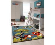 Tapis chambre enfant KIDS SAFARI Undefined par Unamourdetapis 60 x 110 cm - Tapis et paillasson