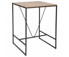 Table de bar Edena - 80 x 80 x 98 cm - Tables salle à manger
