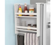 SoBuy® Étagère à suspendre pour réfrigérateur,Étagère à épices Blanc,FRG149-W FR - Etagères murales et tablettes