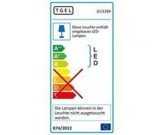 Jedi lighting olivine idual 345 lm 1423289 télécommande avec 2 ampoules - Appliques et spots