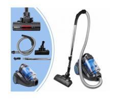 Aspirateur Cyclonique, Balai Electrique Cyclonique, Bleu, Capacité du bac à poussière: 2,5 L - Aspirateur et Nettoyeur