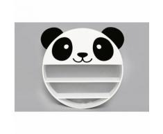 Etagère murale enfant Wild Panda - Diam. 50 cm - Blanc - Etagères murales et tablettes