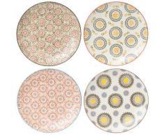 Table Passion - Coffret 4 Assiettes Plates 26 Cm Panama - vaisselle