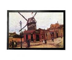 Vincent Van Gogh Paillasson Essuie-Pieds - Le Moulin De La Galette IV, 1886 (60x40 cm) - Tapis et paillasson