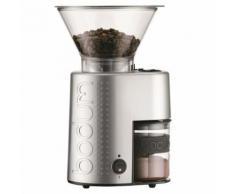Broyeur à café électrique Bodum Bistro avec meule Argent - Cafetière ou machine expresso