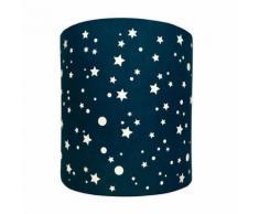 Abat-Jour Etoiles Galaxie Night Lilipouce Bleu nuit 20 cm - Suspensions et plafonniers