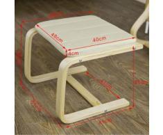 SoBuy® Repose pieds rembourré, Repose jambes- Beige FST38-W,FR - Accessoires canapé