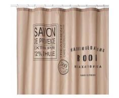 Sealskin 233321310 Savon de Provence, 233321366 Rideau de douche 180 x 200 cm 200 x 200 cm - Accessoires salles de bain et WC
