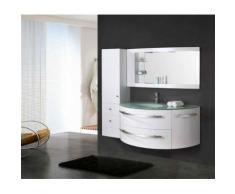 MEUBLE SALLE DE BAIN BLANC VASQUE LUXE, LAVABO ,mod. Ambassador 120 cm - Installations salles de bain