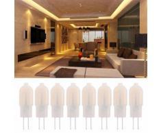 8PCS G4 Bi-broche Ampoule LED Suspension Capsule Halogène De Remplacement Économie D'énergie Lampe LD1635 - Équipements électriques pour luminaire