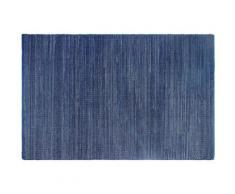 Fabhabitat - Tapis intérieur extérieur Kismet indigo 150 x 90 cm - Tapis et paillasson