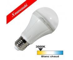 Ampoule led E27 15 watt (eq. 90 watt) - Couleur eclairage - Blanc chaud 3000°K - Ampoules à LEDs