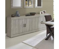 Enfilade contemporaine couleur bois MEREDITH - Buffets