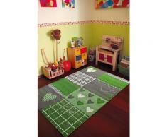 Tapis chambre filles BAMBINO COEUR Tapis Enfants par Dezenco 80 x 150 cm - Tapis et paillasson