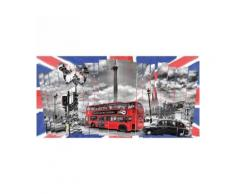 Londres Tableau Déco Sur Toile 50X100Cm - Décoration murale
