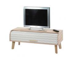 meuble tv à rideau - arkos n°4meuble tv à rideau - arkos n°4 - meuble tv