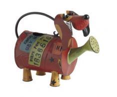 Arrosoir chien en métal laqué 29x13.5x23cm - Objet à poser