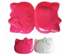 1 Boite A Gouter Hello Kitty Lunch Box 18 X 14 Cm - Autres