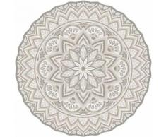 Contento - Tapis intérieur extérieur en vinyle Mandala 145 cm - Tapis et paillasson