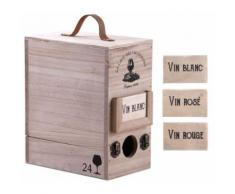 Boite à cubi 3 litres en bois - Accessoires de rangement