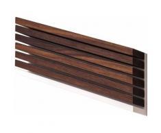 DUECIGNI Ligne 7x2 Bloc mural 6couteaux bois noyer - Accessoires de rangement