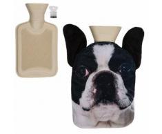 Bouillotte chien bouledogue - Accessoires de bain