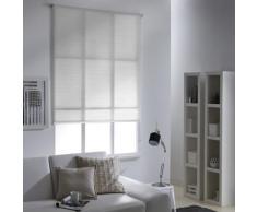 Store Enrouleur Tamisant Uni 60 x 190cm - Taupe - Fenêtres et volets