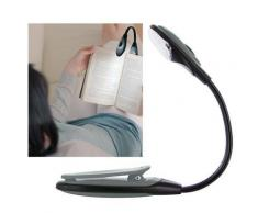 Lampe de lecture flexible LED pour livre, bricolage... gris - Ampoules à LEDs