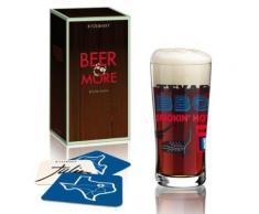 Ritzenhoff - 3090004 - verre à bière black beer and more - verre de collection - julien chung 2014 - Ustensiles
