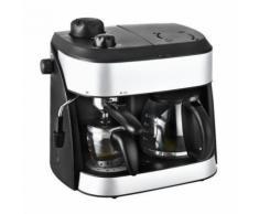 KALORIK TKG EXP 1001C Combiné expresso cafetiere - Noir - Cafetière ou machine expresso
