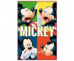 Plaid polaire Mickey Mouse enfant couverture multi - Textile séjour
