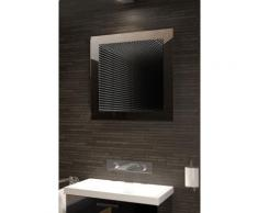 Miroir de salle de bain Infinity à reflet parfait avec éclairage DEL K211 - Miroir
