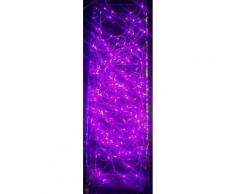 Guirlande cascade intérieur 700 LED - 3,5 m - Rose - Lampes