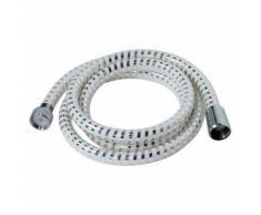 Flexible De Douche Biflex 1,50M Blanc / Chromé - Accessoires salles de bain et WC
