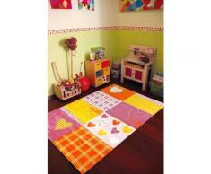 Tapis chambre filles BAMBINO COEUR Tapis Enfants par Dezenco 120 x 170 cm - Tapis et paillasson