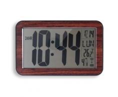 ORIUM - Horloge RC digitale 9.5cm BOIS - Décoration murale