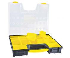 Boîte plastique 19 compartiments - Rangement de l'atelier