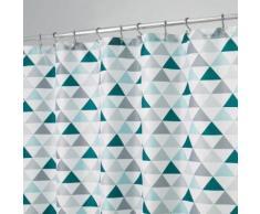 Rideau de douche motif triangles - Accessoires salles de bain et WC