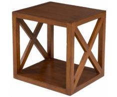 Etagère cube croisillons L40xl36xH40cm FREESIA - Étagère