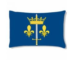 Grand coussin rectangulaire Jeanne d'Arc - Textile séjour