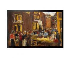 Max Liebermann Paillasson Essuie-Pieds - Ruelle Des Juifs À Amsterdam, 1905 (40x60 cm) - Tapis et paillasson