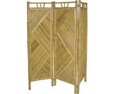 Paravent en bambou de 3 pans -PEGANE- - Objet à poser