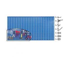Outifrance - Panneau mural perforé et accessoires 1mx0,50 OUTILFRANCE - Rangement de l'atelier