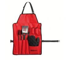 Set barbecue tablier, 6 accessoires - GS46R - Accessoires appareil de cuisson