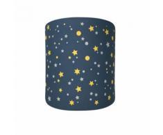 Abat-Jour Etoiles Galaxie Night Lilipouce Bleu marine 25 cm - Suspensions et plafonniers