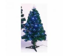 Sapin de Noël Caméléon - H 90 cm - Lumiere changeante rouge et bleu - Objet à poser