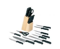 Zeller 24558 bloc à couteaux 13 pièces 9 x 12 x 32,5 cm - Ustensiles