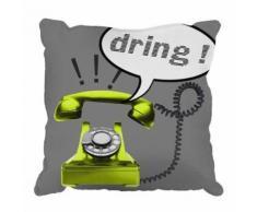 Paris prix - coussin déco phone 40x40cm - Textile séjour