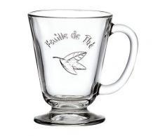 Tasse Feuille de thé, La Rochère - couverts