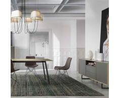 Nouvomeuble - Salle à manger design taupe et grise maite - Tables salle à manger
